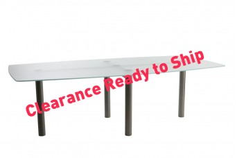 Clearance glass office Furniture
