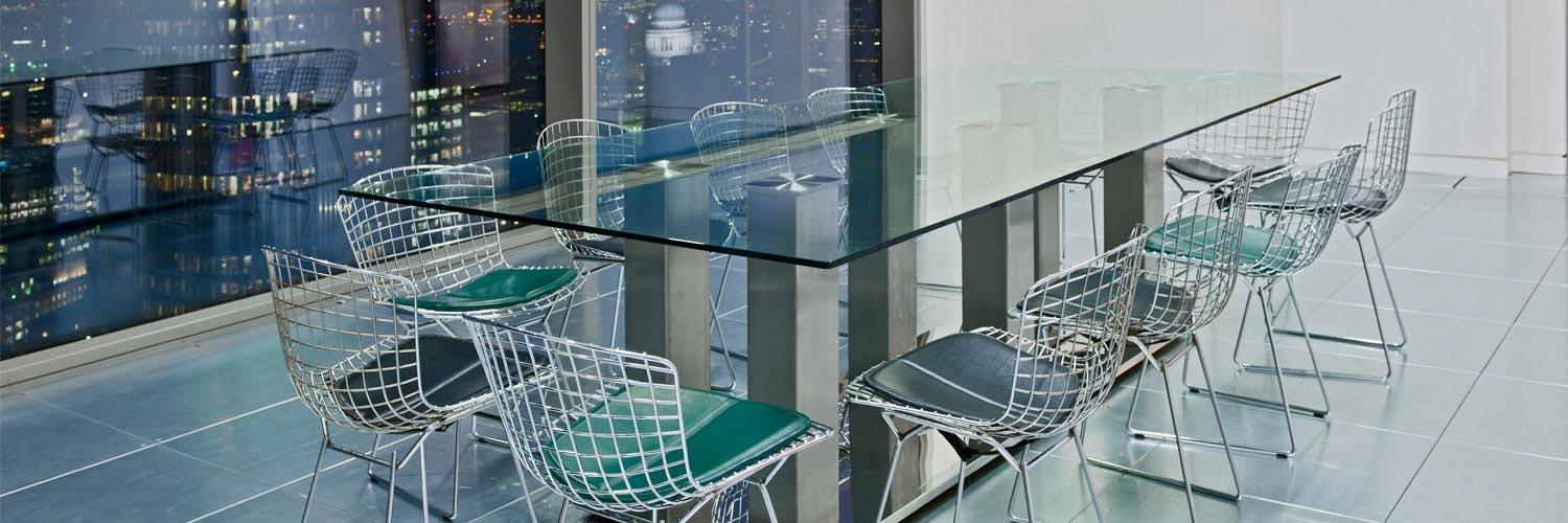 Large Glass Table