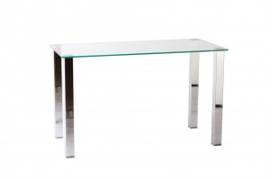 Arctic Glass Office Desk