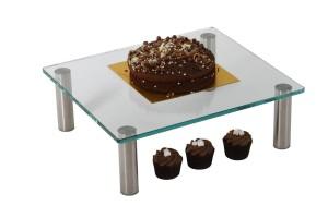 Glass Cake Display Shelves (10mm Glass)