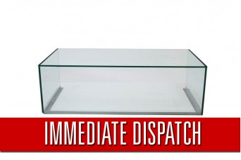 Clearance Sneeze Counter W:850mm x D:490mm x H:500mm - Clear Glass