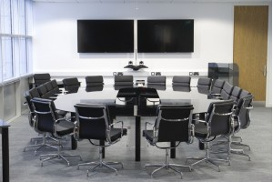 Communicator Glass Conference Table
