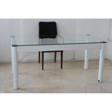 Communicator Glass Home Office Desk