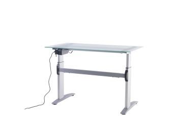 Companion Sit Stand Glass Desks