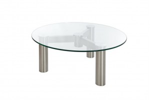 Connect Glass Dining Table