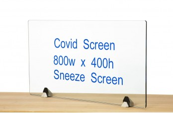 Clamped Covid Screens for Receptions