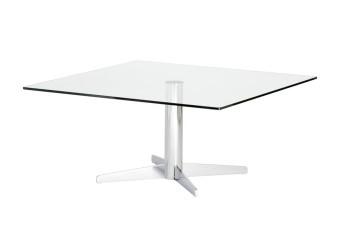 Custom Classic Cross Base Knee Table
