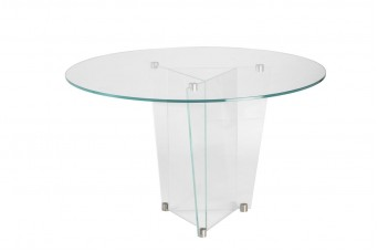 Custom Low Iron Bonded Prism Table