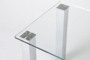 Derby Glass Office Table