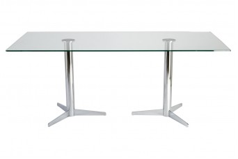 Dual Classic 3 Elbow Meeting Table