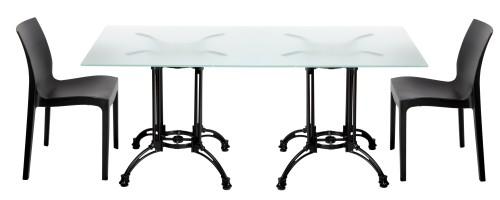 Custom Dual Cast Outdoor Table