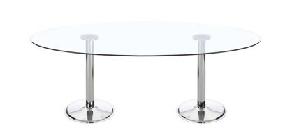 Dual Global Elbow Meeting Table
