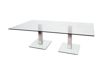 Dual Glass Coffee Table