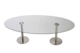 Dual Radius Dining Table