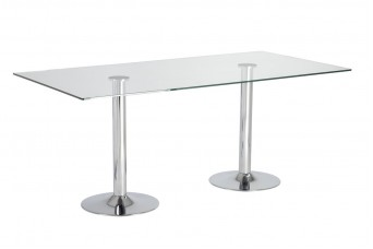Dual Trumpet Elbow Home Table