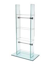 Medium Glass media Stand