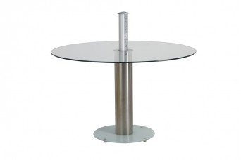 Meet and Greet Glass Meeting Table
