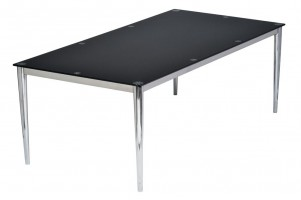 Pin Elbow Glass Meeting Table
