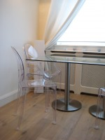 Radius Glass Dining Table