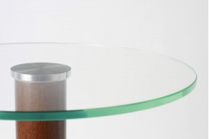 Round or Oval glass tops to size