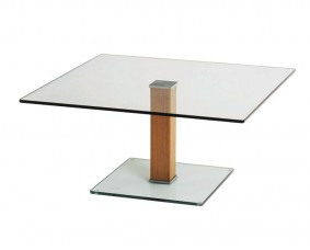 Semplice Glass Side Table