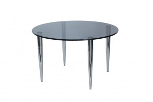Slender Pin Glass Coffee Table