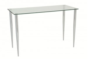 Slender Pin Glass Dining Table