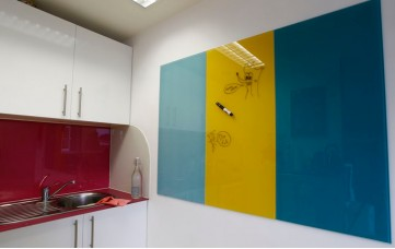 Stock Write On Glass Kitchen Boards