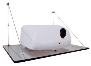 Glass Projector Shelf