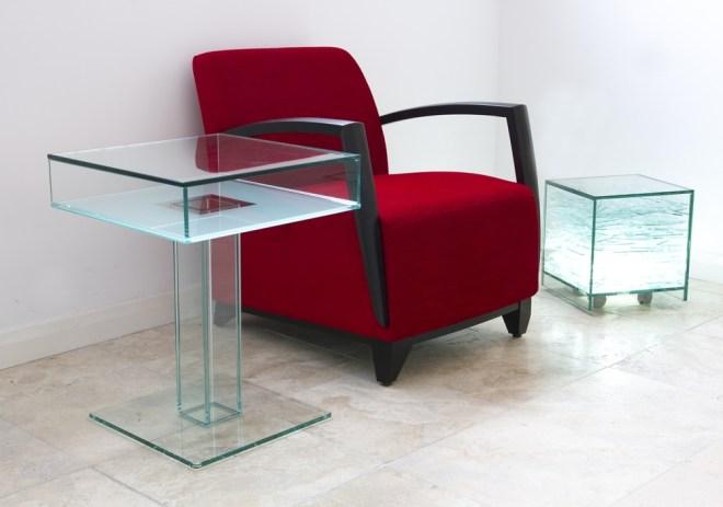 All Glass UV Bonded Furniture