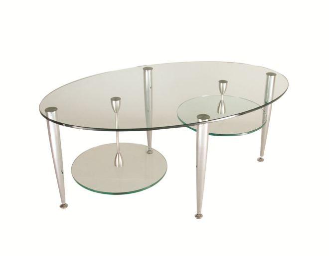 Twin Shelf Coffee Table