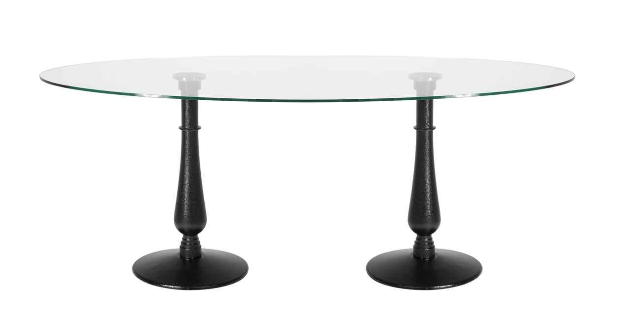 Custom Dual Iron Drip Table