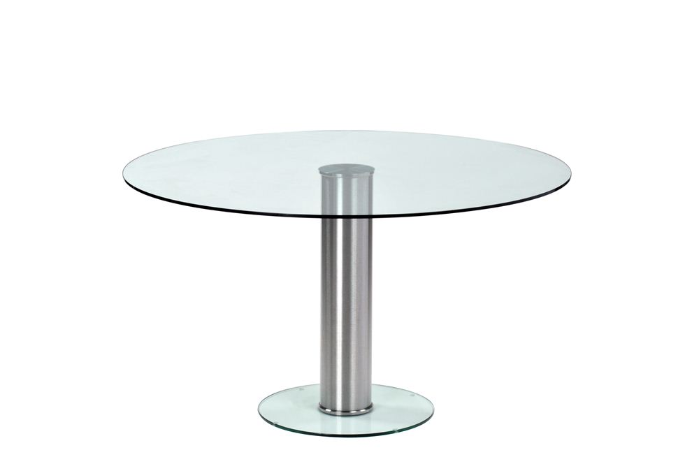 Custom Platform Round Glass Table