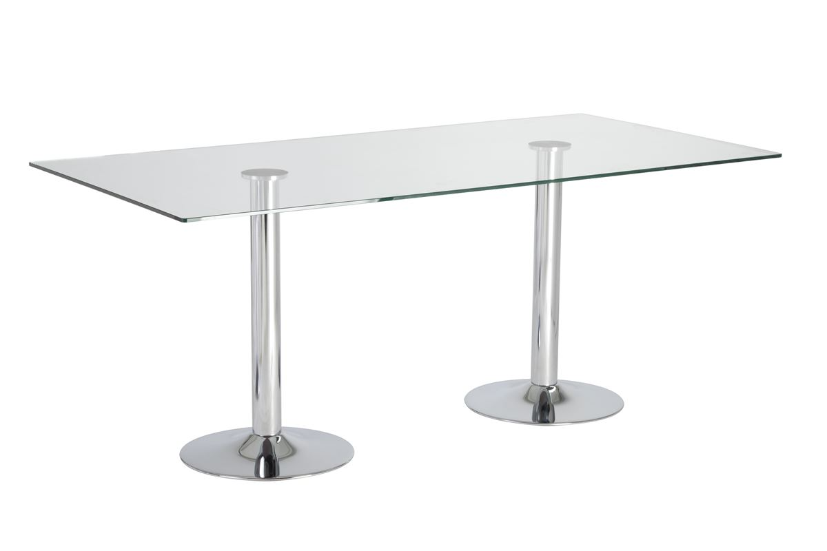 Dual Trumpet Elbow Meeting Table