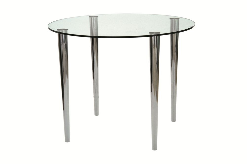 Pin Elbow Glass Desk